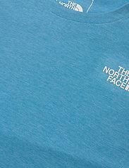 The North Face - M BRIDGER S/S - t-shirts - meridian blue heather - 2