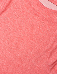 The North Face - W VYRTUE S/S CROP - crop tops - horizon red heather - 2