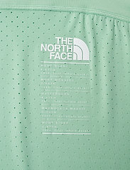The North Face - W GLACIER TEE - EU - crop tops - lichen light heather - 3