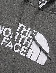 The North Face - W DREW PEAK PULL HD - hættetrøjer - tnf medium grey heather - 2