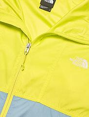 The North Face - M CYCLONE JACKET - vestes et manteaux - sulphur spring green-tourmaline blue - 2