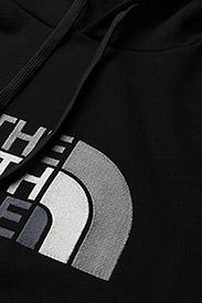The North Face - M DREW PEAK PLV HD - džemperi ar kapuci - tnf blk/tnf blk - 2