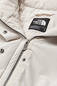 The North Face - W ZANECK PARKA - insulated jackets - vintage white - 9