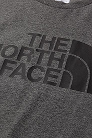 The North Face - M S/S EASY TEE - t-shirts à manches courtes - tnf medium grey heather (std) - 2