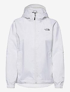 W QUEST JACKET - veste sport - tnf white-pache grey