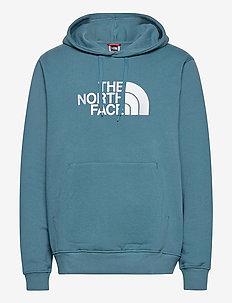 M Drew Peak PLV HD - hoodies - mallard blue/tnf white