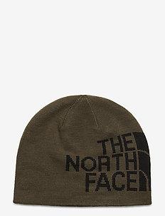 RVSBL TNF BANNER BNE - hats - newtaupegrn/tnfblack