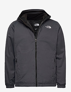 M QUEST INSULATED JK - isolerande jackor - vanadis grey black heathr
