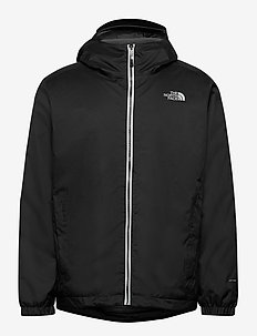M QUEST INSULATED JKT - outdoor & rain jackets - tnf black