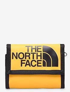 BASE CAMP WALLET - lompakot - tnf yellow-tnf black