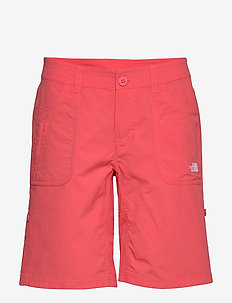 W HORIZON SUNNYSIDE - outdoor-shorts - cayenne red
