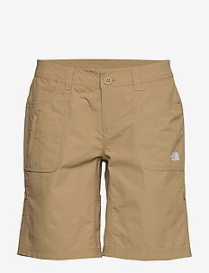W HORIZON SUNNYSIDE - outdoor shorts - kelp tan