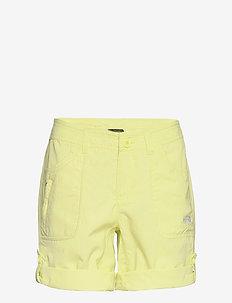 W HORIZON SUNNYSIDE - spodenki turystyczne - pale lime yellow