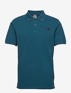 M POLO PIQUET - koszulki polo - monterey blue