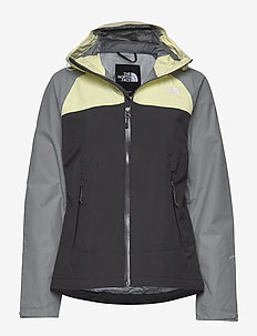 W STRATOS JACKET - ASPGY/MDGY/TNDY