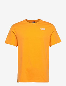 M S/S RED BOX TEE - sportstopper - summit gold/tnf black
