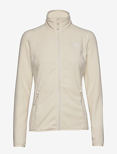 W 100 GLACIER FULL Z - fleece midlayer - vintgwht/tnfwht