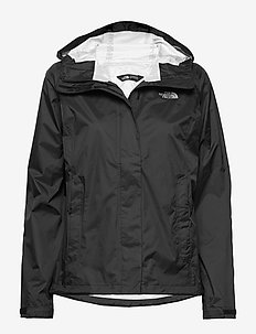 W VENTURE 2 JACKET - outdoor- & regenjacken - tnf blk/tnf blk