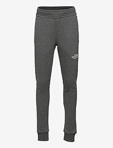Y FLEECE PANT - sweatpants - tnfmediumgreyhtr/tnfwhite