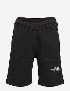 Y FLEECE SHORT - TNFBLACK/TNFWHT