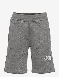 Y FLEECE SHORT - shorts - tnf medium grey heather
