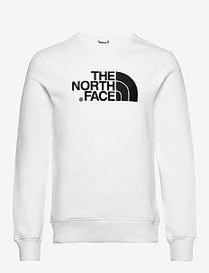 M DREW PEAK CREW - sweatshirts - tnf white