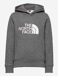 Y DREW PEAK P/O HD - huvtröja - tnf medium grey heather
