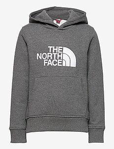 Y DREW PEAK P/O HD - hoodies - tnf medium grey heather