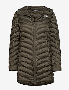 W TREVAIL PARKA - kurtki puchowe - new taupe green