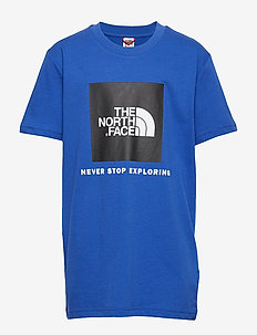 Y BOX S/S TEE - TNF BLUE