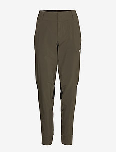 W HIKESTELLER PANT - ulkohousut - new taupe green