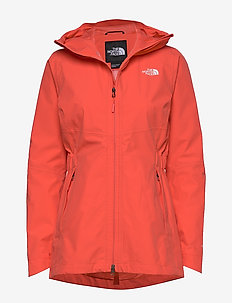 W HIKESTELLER PARKA SHELL JACKET - EU - sports jackets - cayenne red