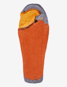 LYNX - soveposer og liggeunderlag - hawaiian sunset orange-zinc grey