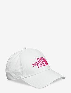 TNF 1 TOUCH LITE CAP - caps - tnfwhite/mr.pnk