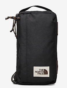 FIELD BAG - trainingstassen - tnf black hthr
