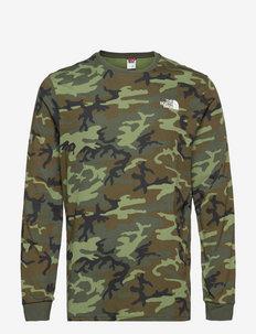 M LS SIMPLE DOME TEE - bluzki z długim rękawem - thymbrshwdcmprt