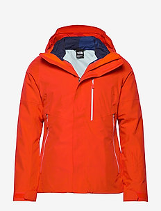 W GARNER TRICLIMATE JACKET CLOUD BL - FIERY RED