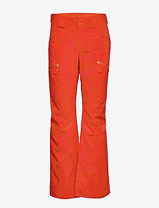 W LENADO PANT FIERY RED - insulated pants - fiery red