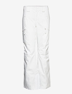W LENADO PANT FIERY RED - insulated pants - tnf white