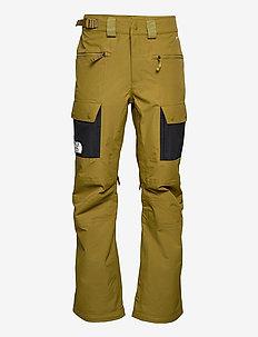 M SLASHBACK CARGO PA - skiing pants - fir green/tnf black