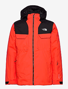 M FOURBARREL TRI JKT - vestes de ski - flare/tnf black