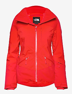 W LENADO JACKET FIERY RED - FIERY RED