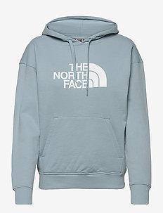 W LHT DREW PEAK HD - hoodies - tourmaline blue