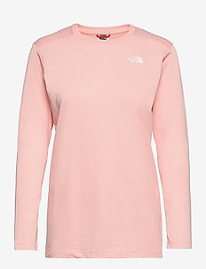 W L/S SIMPLEDOME TEE - langærmede toppe - evening sand pink