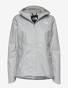 W QST PRNT JKT - outdoor & rain jackets - tnfwhtedwdrp2pt