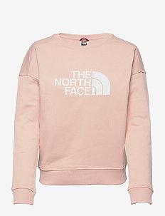 W DREW PEAK CREW-EU - bluzy i swetry - evening sand pink