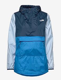 W FANORAK - outdoor & rain jackets - clkb/blwt/anflb