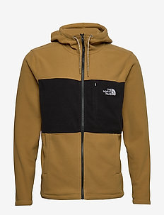 M BLOCKED FZ HD - fleece midlayer - brtkhk/tnfblk