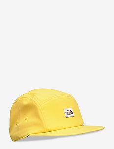 VAN LIFE CAMP HAT - caps - bamboo yellow