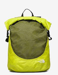 WATERPROOF ROLLTOP - training bags - sulphur spring green-tnf black